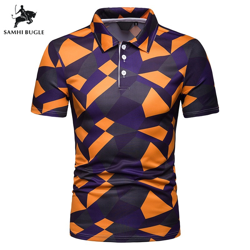 New summer   polo   shirt men short sleeve   polos   shirts cross slim fit mens   polos   clothes dress bodybuilding streetwear poloshirt