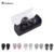 Mini TWS Gêmeos Verdadeiro Som Estéreo Bluetooth Fone de Ouvido Fones De Ouvido fone de Ouvido Handfree Sem Fio Bluetooth Fones De Ouvido Com Caixa de Carga