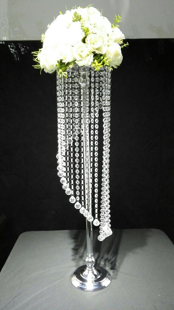 10PCS Lots Acrylic Crystal Wedding Centerpiece Flower