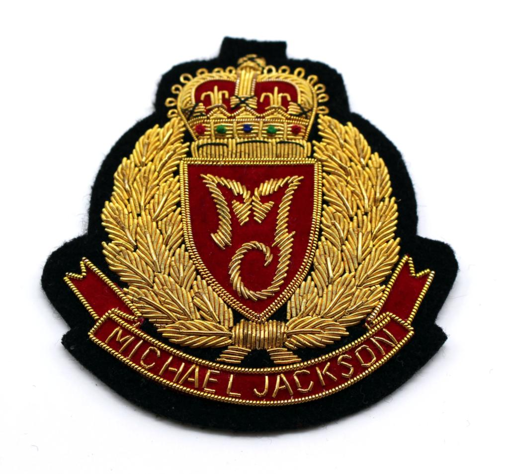 US $18 98 |Garment accessories, Handmade bullion wire embroidery  badge/patch, Michael Jackson Club fashion badge~~~~-in Patches from Home &  Garden on