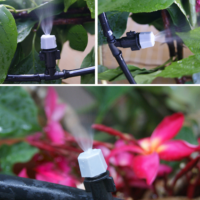 5 / 10 / 15M Automatic Micro Home Drip Irrigation System Sprinkler Water irrigation With Adjustable Dripper For Watering Flowers