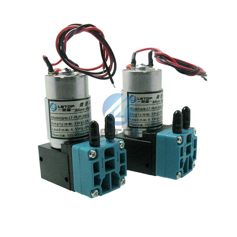 2 unids piezas LETOP bomba de tinta grande 24 v bomba de tinta 7 W para impresora de inyección de tinta solvente para exteriores