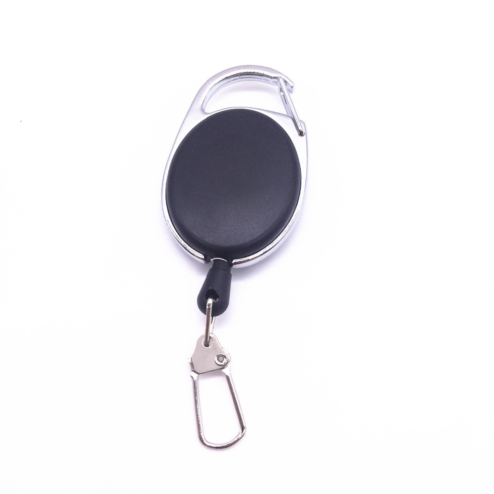 Key Chain Mini Protable Adjustable Outdoor Sports EDC Car iking High Rebound Telescopic Steel Wire Rope Key Ring Travel Tools