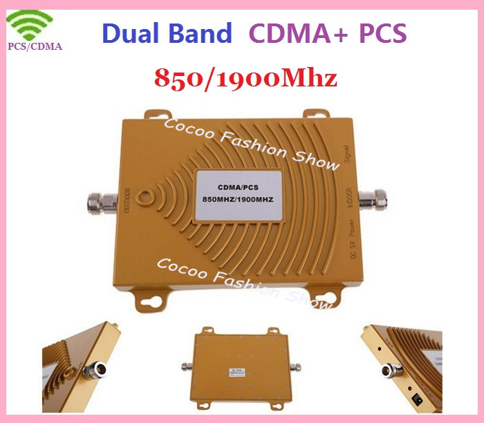 Hot 65dbi GSM 3G CDMA 850Mhz PCS 1900Mhz Repeater , Dual Band CDMA 850 + PCS 1900 Booster , GSM 2G  Mobile Phone Signal AmpliferHot 65dbi GSM 3G CDMA 850Mhz PCS 1900Mhz Repeater , Dual Band CDMA 850 + PCS 1900 Booster , GSM 2G  Mobile Phone Signal Amplifer