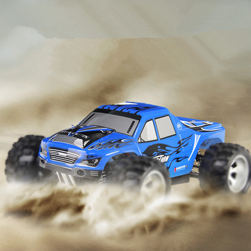 2017 hot sale 50KM/H high speed RC OFF Road truck A979 2.4G 1:18 4WD 4x4 RC Toy Electric RC Cross-Country racing Car vs 12891 lc racing high quality 1 14 series car accessories l6062 desert truck anti roll frame group cross country racing speed card