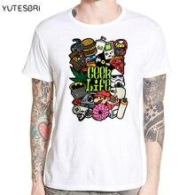 "Highly cool ""Geek Life"" men T-shirt"