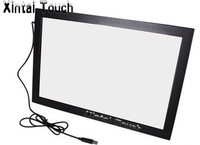 Free Shipping! Narrow and slim design 55 inch LCD touch screen, 10 points IR touch screen overlay kit
