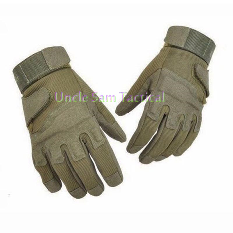 Männer Military Tactical Handschuhe Volle Finger Kampf Handschuhe Anti-slip Jagd Handschuhe Armee Airsoft Paintball Handschuhe image