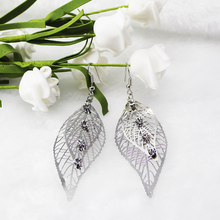 2019 New Arrival silver Love Heart Drop Earrings For Women Korean Style Pearl Dangle Fashion Party Wedding Jewelry