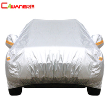 Cawanerl 13 Size Waterproof Car Cover SUV Auto Sedan Hatchback Sun Rain Frost Snow Dust Protection Anti UV Cover Car Accessories cheap Car Covers All years Polyester Taffeta Dustproof UV Anti 1 5m 0 8kg 1 8m Waterproof Soft Light and Durable Full Car Covers