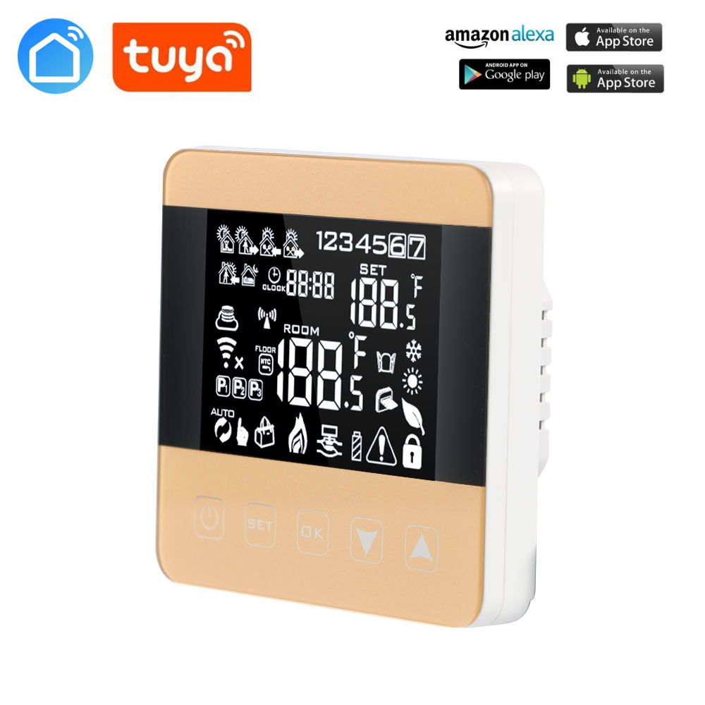 TUYA  Thermostat WiFi Temperature Controller For Water /Floor Heating  Alexa Google Home Control Thermoregulator For Warm Room