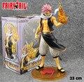"Frete grátis fresco 9 "" Fairy Tail Anime Natsu 1/7 Scale encaixotado 23 cm PVC Action Figure Animation Model Collection presente Toy boneca"
