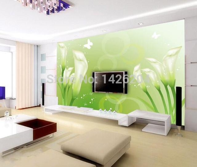 Custom 3d wall murals wallpaper bedroom living room with for Zoom room design