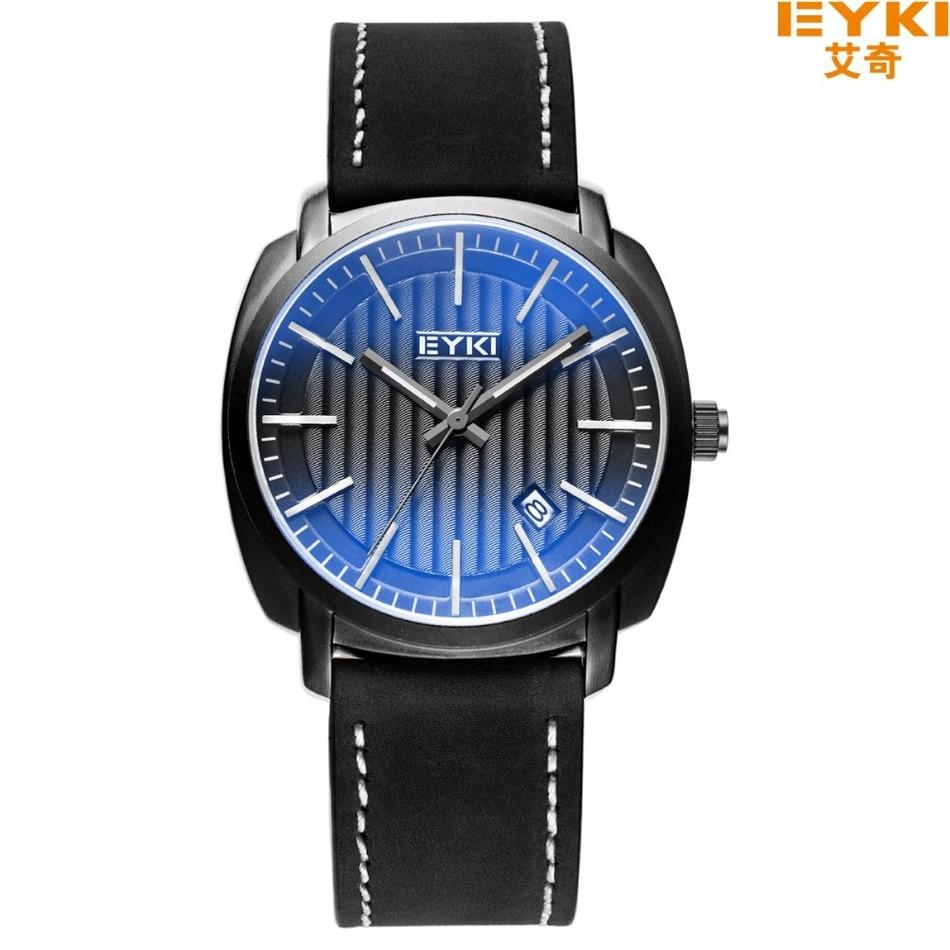 ФОТО Brand  30m Waterproof  Famous Brand Man Watches 2016 Brand Luxury light Blue Glass Mirror Casual Watches calendar Quartz watch