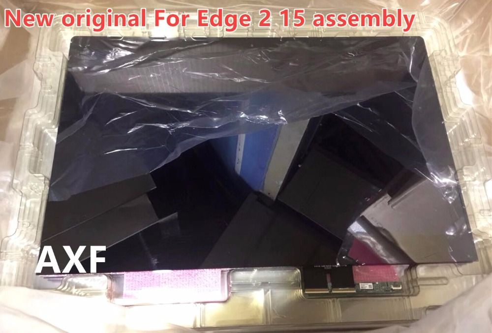 New original For Lenovo Edge 2 15 lcd assembly 80QF0005US 15.6'' Laptop lcd display with touch NV156FHM-N42 NV156FHM-A13 original new space grey silve laptop a1706 lcd assembly 2016 2017 for macbook pro retina 13 a1706 lcd screen assembly mlh12ll a