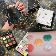 цена 9 ColorProfrofessional Eyeshadow Palette Shimmer Matte Glitter Easy to Wear EyeShadow Pallete Maquiagem MakeUp Eyeshadow Palette в интернет-магазинах