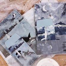 1 компл./лот китайский Стиль живопись серии 3 шт. конверт и 6 букв Бумага комплект сообщение Бумага бумага для писем