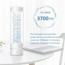 を 3th 世代最大 3700ppb SPE & PEM 高水素濃度水素水ボトルと最小限の水素水発生器