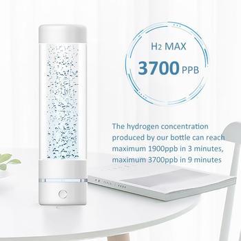 La 3th génération Max 3700ppb SPE & PEM bouteille d'eau hydrogène à haute concentration en hydrogène et générateur d'eau à hydrogène Minimal