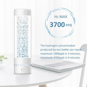 The 5th Generation Max 3700ppb SPE&PEM High hydrogen concentration hydrogen water bottle and Minimal hydrogen water generator water management of pem fuel cell stack