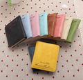 2015 new hot sale women soft matte surface Piduo Ka-bit retro short paragraph women wallet card package credit card dh171