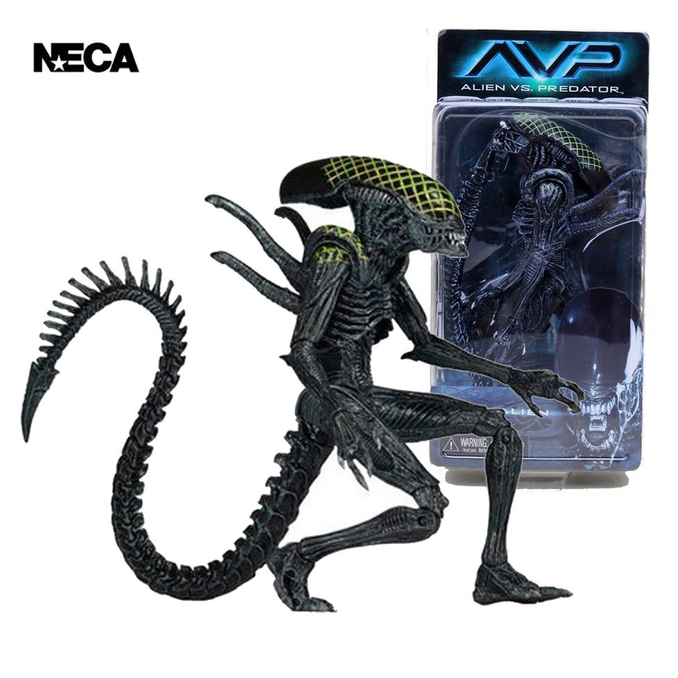 NECA AVP Aliens Vs Predator Rid Alien Xenomorph
