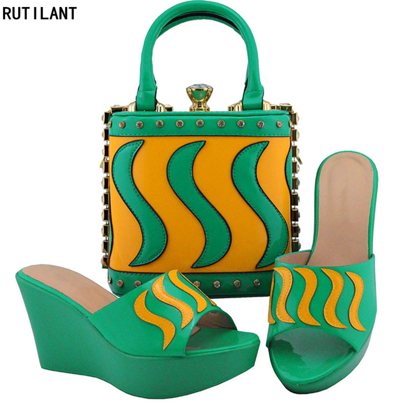 Green Nigérian or spring Rouge Avec Chaussures Peach Ensemble Slip Les fuchsia Royal Femmes Sur Sacs Dernières pourpre Strass Italiennes Parti Assortis Pompes Décoré noir Et vin bleu zqUHnRS