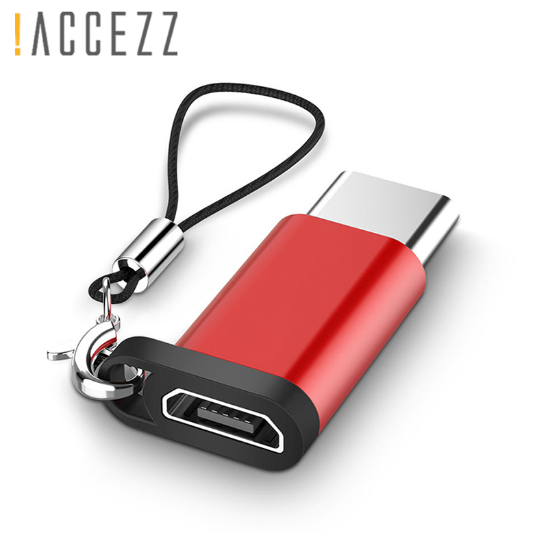 !ACCEZZ Micro USB To Type-C Converter For One Plus 5 Xiaomi Mi6 5 4S 4C For LG G5 G6 OTG Adapter Fast Charger Data USB Connector