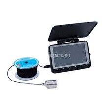 4,3 дюймов ЖК-дисплей Дисплей ночного видения HD Камера 15 м глубже Рыболокаторы Подводная охота Камера монитор с 4500mA Батарея FY-WF06