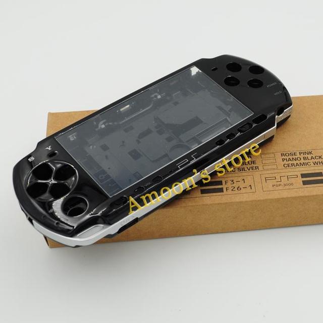 מקורי באיכות מלא סט שיכון מעטפת כיסוי מקרה עבור PSP 3000 חלקי תיקון 4 צבעים w/מברג