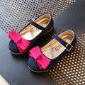 Принцесса Девушки Обувь Девочек Сандалии 2017 Новый Весна Лето Лук Плоским Моды Девушки Одиночные Обувь Chaussure Enfant Танец Детская Одежда Обувь