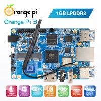 Orange Pi 3 H6 1GB LPDDR3 Gigabyte Ethernet Port AP6256 WIFI BT5.0 4*USB3.0 Support Android 7.0, Ubuntu, Debian