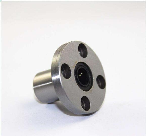LMF10UU 10mm Round Flange Linear Ball Bearing Linear Motion Bearing CNC Parts