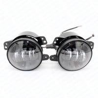 2Pcs Pair 4 Inch 30W 1440LM Car Led Fog Light Auto Work Lighting Bulbs Head Lamp