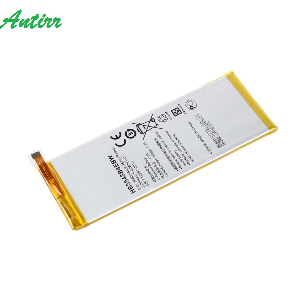 New 3.8V 2460mAh HB3543B4EBW Li-Polymer Battery For <font><b>Huawei</b></font> Ascend <font><b>P7</b></font> <font><b>L07</b></font> L09 L00 L10 L05 L11 Phone Battery #30 image