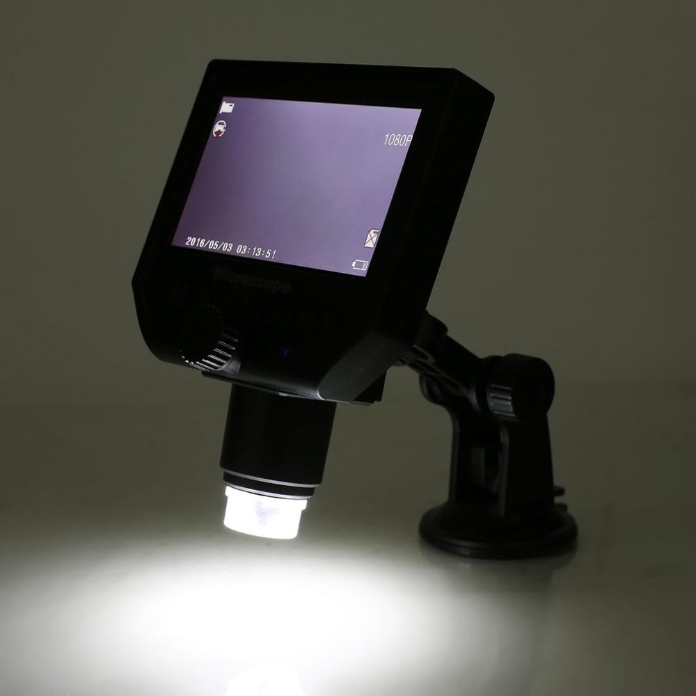 """Digital USB Microscope Digital USB Microscope LCD Display 4.3"""" Magnifier EU US Plug v 3.6MP 1080P/720P HD Drop Ship 2018 New"""