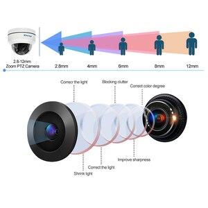 Image 4 - Techage 1080P 4X Zoom PTZ POE IP Camera Mini Speed Dome Âm Thanh Chống Nước 2MP Camera Quan Sát An Ninh P2P Onvif video POE Giám Sát