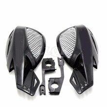 "Motocicleta brush bar mano guards7/8 ""handguard 22mm accesorios negro para suzuki honda kawasaki ktm atv protector de la mano guardia"