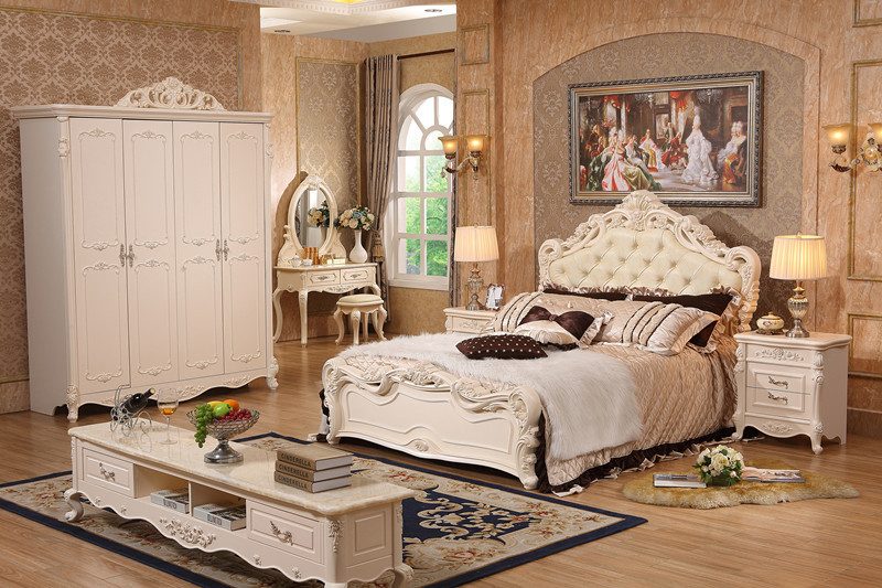 Complete Set Royal White Bedroom Furniture With Factory Price Bedroom Sets Aliexpress