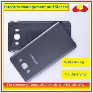 Image 5 - 50 pçs/lote Para Samsung Galaxy J5 2016 J510 J510F J510FN J510H J510G Porta Traseira Da Bateria Habitação Capa Case Chassis Shell