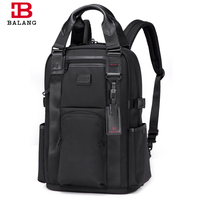 BALANG 2018 Men Male Laptop Backpack College Student School Backpack Bags For Teenagers Business Casual Rucksack