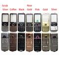 Высокое качество металла полный корпус для Nokia 6700 6700C передняя рамка + крышка батареи + английский/клавиатура с русским шрифтом