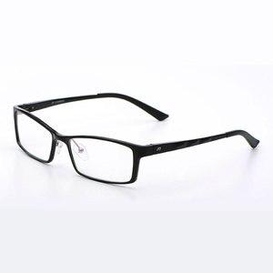 Image 1 - Reven Jate B2037 Optische Brillen Frame Voor Mannen En Vrouwen Bril Prescription Rx Aluminium Frame Bril Volledige Velg