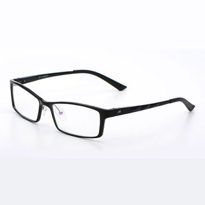 Image 1 - Reven Jate B2037 optik gözlük çerçeve erkekler ve kadınlar için gözlük reçete gözlük Rx alaşımlı çerçeve gözlük tam jant