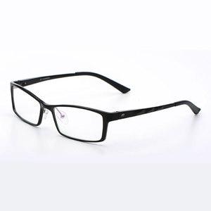 Image 1 - Reven jate b2037 óculos ópticos quadro para homem e mulher óculos de prescrição rx liga quadro óculos aro completo