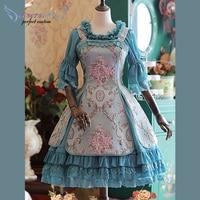 Sweet Lolita Jumper Skirt Afternoon Tea Of Windsor Lolita JSK #25980630107