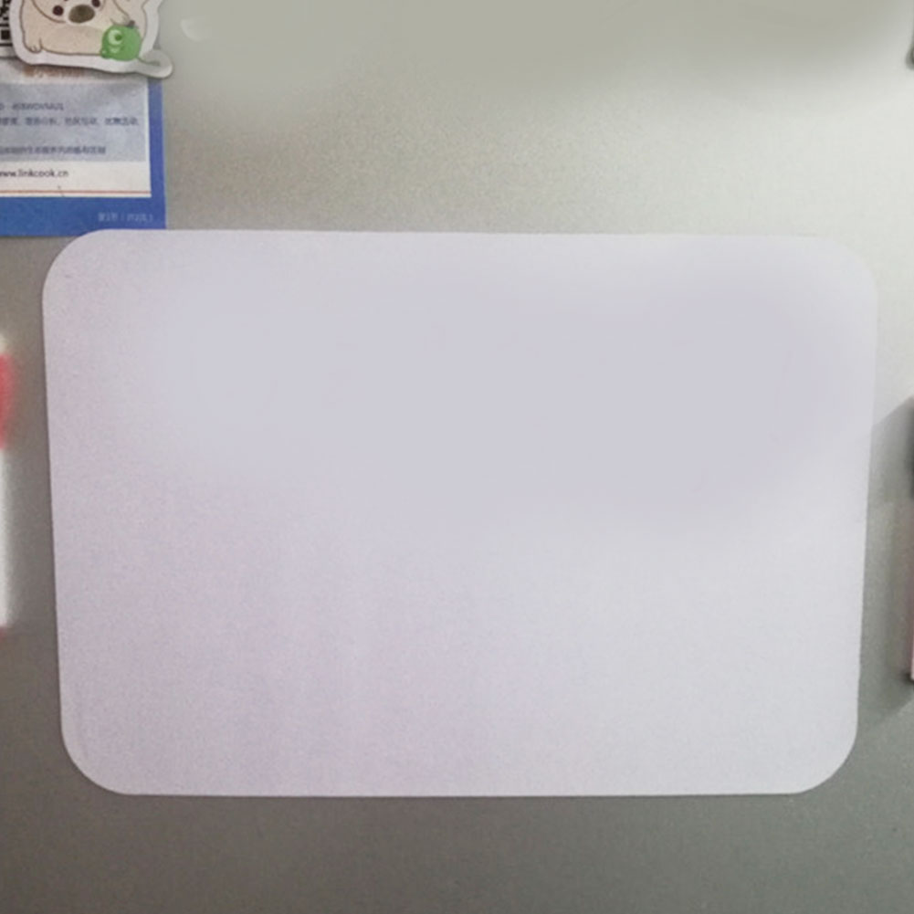 Whiteboard Memo-Pad Messages Magnetic Soft Writing Portable Refrigerator Plans Leave