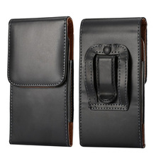 Universal 5.5 inch Capa Vertical Flip Leather Belt case Cover For elephone p8000 Cell Phone Accessories Pouch Bags Cases s2A05D