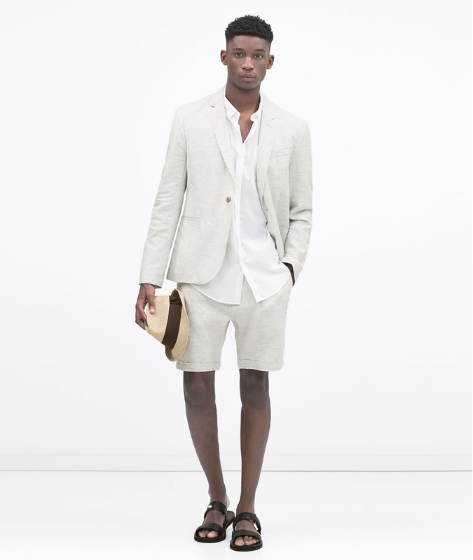Latest Coat Pant Designs Ivory Casual Linen Men Suits Custom Summer Short Pants Slim Fit Beach 2 Pieces Terno Jacket+Pants 158