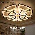 Современные светодиодные потолочные лампы для гостиной  спальни  AC 90-260 В  современный Декор для дома  светодиодные потолочные лампы  беспла...